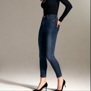Denim Forum Lola High Rise Skinny Crop 29